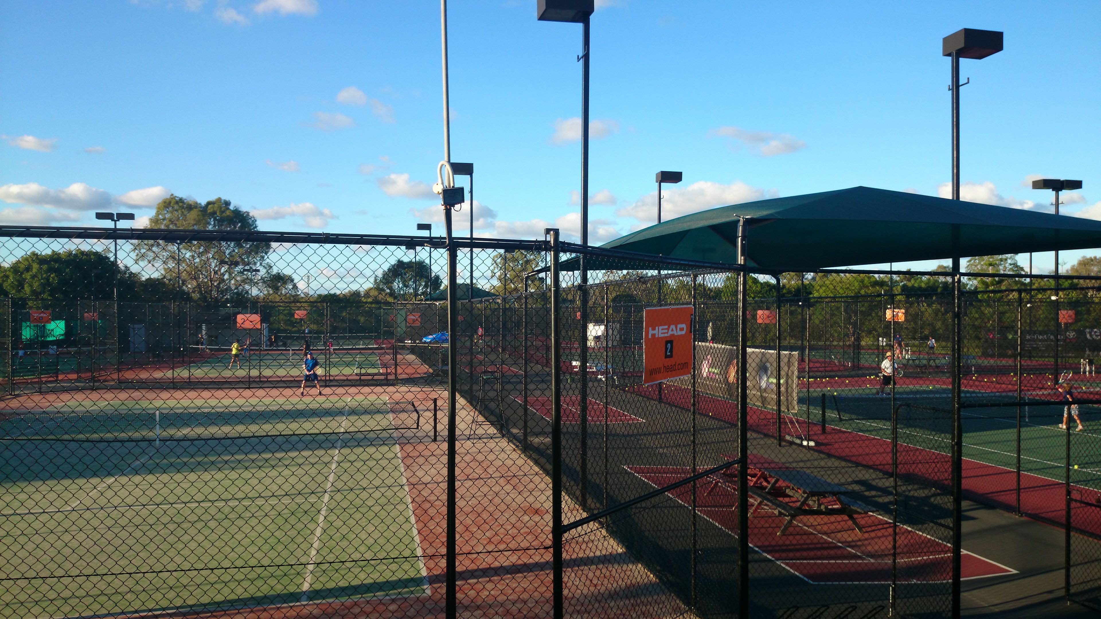 Morningside Tennis Centre - Superleague action
