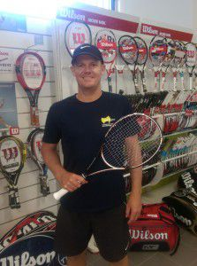 Tennis Gear Director of Performance Tennis Damien Roberts