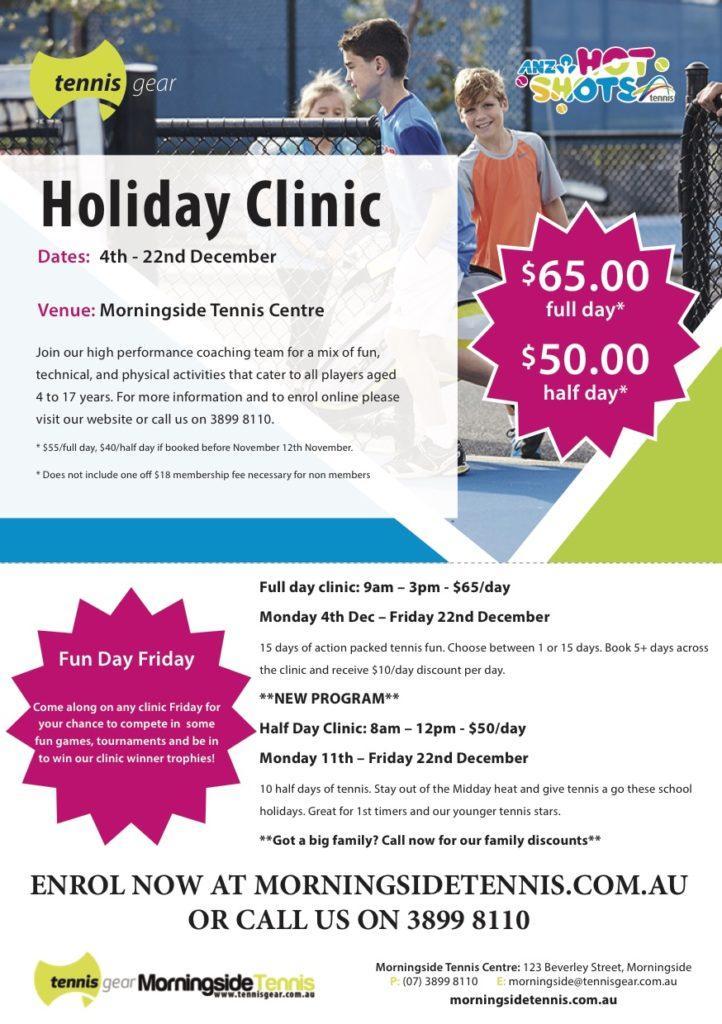 Morningside Clinic Flyers Dec 2017