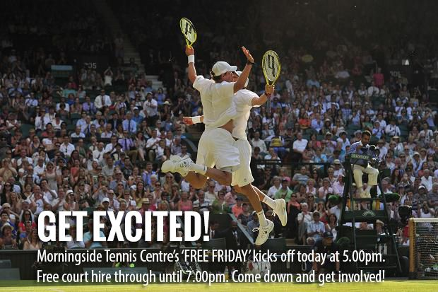 Morningside Tennis Centre - Free Friday!