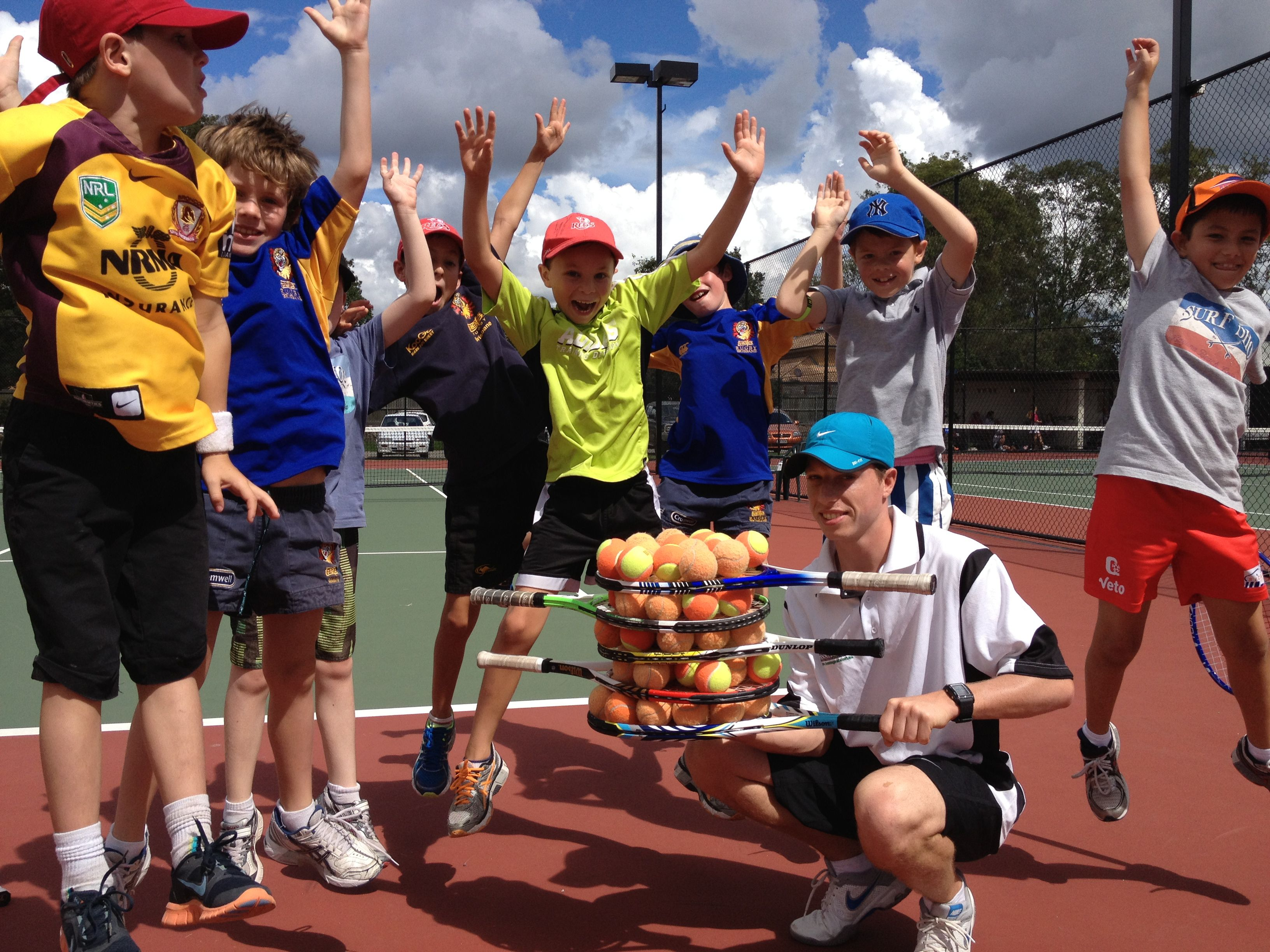Morningside Tennis Centre plays host to some of Brisbane's most popular school holiday tennis activities.