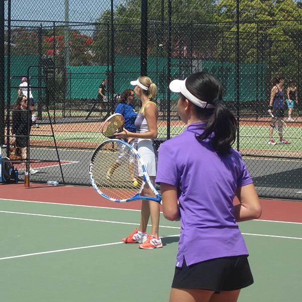 2014 Club Champs Ladies Doubles Final