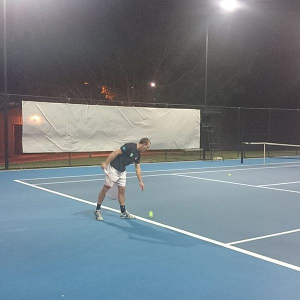 Cornel Mirciov in action at Griffith Uni