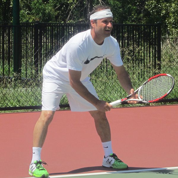 Jose Moreno in action at the 2014 Club Champs