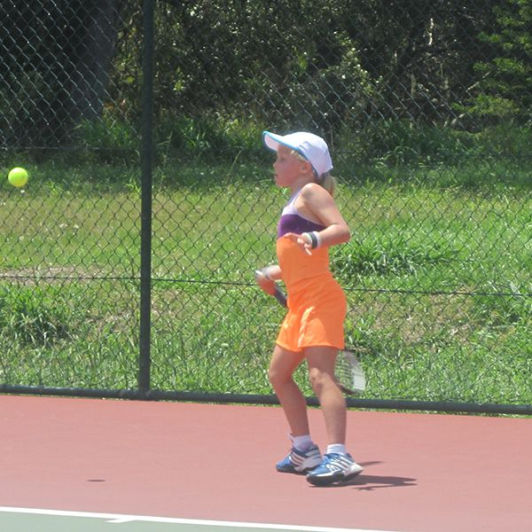 Sarah Birchall in action at the Morningside Club Championships