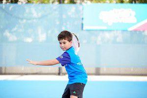 Tennis Gear Hot Shots Orange Ball lesson for kids