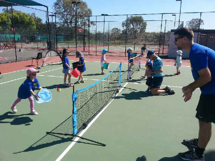 Hot Shots Blue Tennis Coaching at Morningside